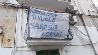 Matteo Salvini oggi a Napoli, città divisa: striscioni e cortei contro il vice-premier