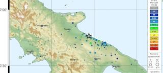 Terremoto Puglia, avvertito anche al confine con la Campania