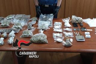 Afragola, nascondeva in valigia due chili e mezzo di droga: arrestato 43enne