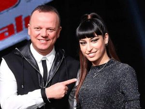 Gigi D'Alessio e Carmen Pierri