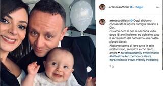 """Arteteca di Made in Sud sposi, Enzo e Monica ringraziano i fan: """"Voi, il regalo più bello"""""""