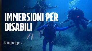 """A Ischia immersioni per ragazzi ipovedenti e paraplegici: """"Il mare non ha barriere"""""""