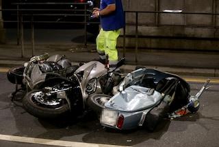 Napoli: tradito dal Gps del cellulare, rapinatore si schianta durante la fuga