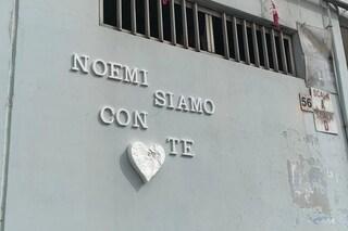 """""""Noemi siamo con te"""": il quartiere annuncia una festa per la bimba tornata a casa"""