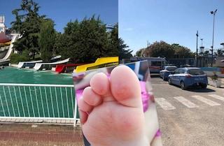 """Pareo Park, terrore in piscina: """"Bolle e sangue sui piedi dei bambini"""", arriva la polizia"""