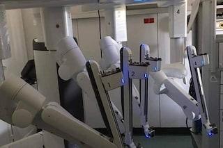 All'ospedale di Pozzuoli il robot Da Vinci per le operazioni ai malati di cancro
