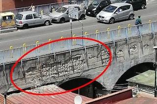 Il Ponte di via Pigna si sta sgretolando, a settembre chiuderà per restyling