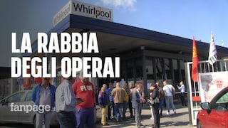 """Whirlpool, la rabbia dei 430 operai: """"Produzione si sposta all'estero, non erano questi i patti"""""""