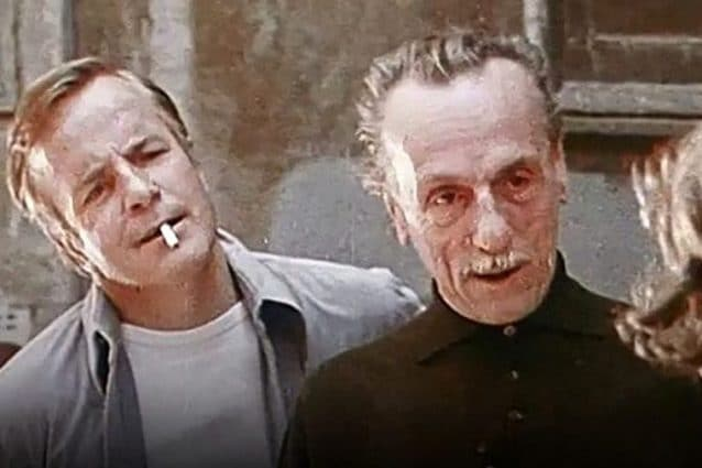 Eduardo De Filippo e Franco Zeffirelli nel 1973