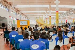 Amazon apre nuovo deposito ad Arzano e dona attrezzature alla Sporting Arzano