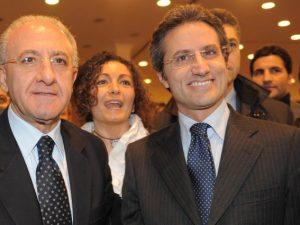 Vincenzo De Luca e Stefano Caldoro