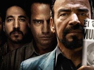 """Il Cartello di Cali nella serie televisiva di Netflix """"Narcos"""", basato sull'originale cartello colombiano storico avversario del Cartello di Medellin guidato da Pablo Escobar."""