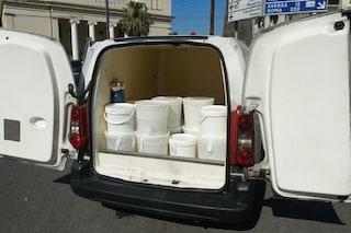 Sequestrati 150 kg di mozzarella: era trasportata in furgoni sporchi e fuori legge