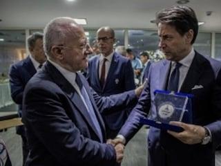 Dopo le Universiadi incontro fra Vincenzo De Luca e il premier Conte a Palazzo Chigi