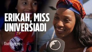 """Universiade 2019, il messaggio di Erikah, la bella atleta sudafricana: """"Credete in voi stessi"""""""
