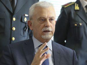 Giuseppe Borrelli, procuratore aggiunto di Napoli e scelto come capo della Procura di Salerno.
