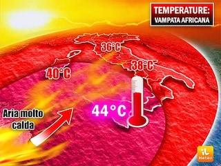 Meteo Napoli, nuovo allarme ondate di calore nei prossimi giorni