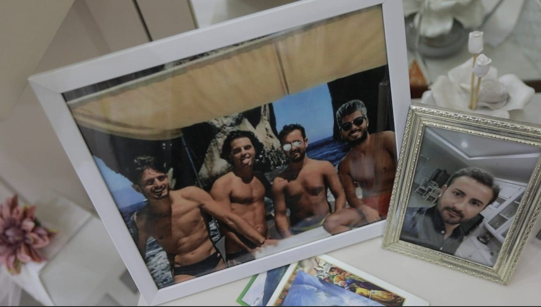 Antonio Stanzione, Matteo Bertonati, Gerardo Esposito e Giovanni Battiloro