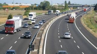 Veicolo contromano su autostrada A3 Napoli-Salerno, tra Cava de' Tirreni e Vietri sul Mare