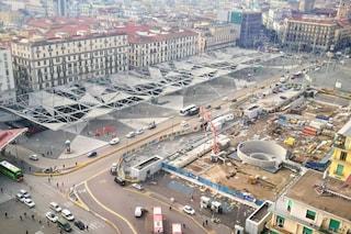 Piazza Garibaldi chiude al traffico per 3 mesi: lavori per riasfaltare il vialone centrale