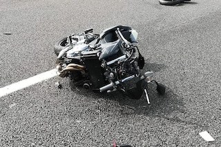 Incidente in moto tra Terzigno e Boscoreale, muore l'uomo alla guida del mezzo