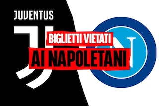 """Biglietti Juve Napoli vietati ai nati in Campania, la società: """"Così anche nel 2018"""". Ma non è vero"""