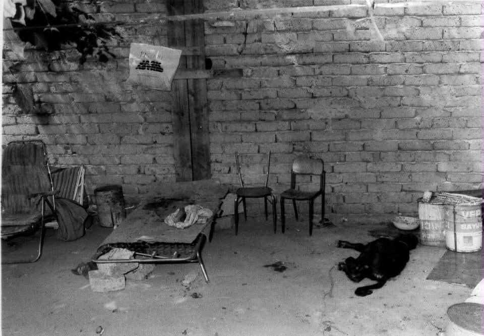 Il luogo dell'omicidio Masslo/ foto archivio Agenzia Frattari