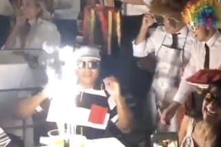 Magic Johnson festeggia i 60 anni a Capri, compleanno col rapper LL Cool J