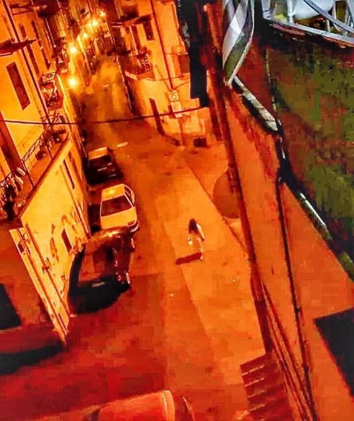 Un 'avvistamento' ad Acerra (Napoli)