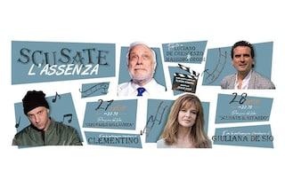 Avellino Summer Fest: Clementino legge Luciano De Crescenzo, Giuliana De Sio omaggia Massimo Troisi