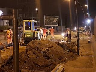 Fuorigrotta, partono i cantieri in via Terracina: strada dimezzata per 3 mesi