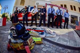 11 settembre: i militari Usa a Napoli commemorano l'attentato alle Torri Gemelle di New York