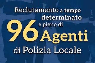 Napoli, il bando coi requisiti per l'assunzione di 96 agenti della Polizia Locale