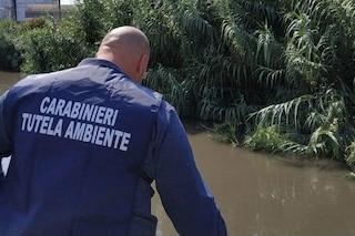 Scarichi abusivi nel fiume Sarno, autolavaggio sequestrato