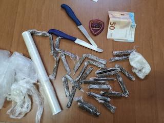 San Felice a Cancello, nasconde la droga sotto la cuccia del cane: scoperto e arrestato