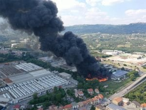 Avellino Incendio