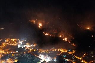 Incendio sulla collina di Sarno, arrestato ragazzo di 16 anni