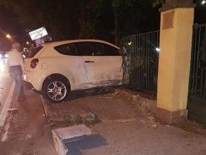 L'incidente avvenuto a Monteforte Irpino su via Alvanella, a pochi metri dal casello di Avellino Ovest dell'autostrada A16.
