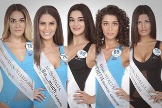 Miss Italia 2019, ecco le 5 finaliste della Campania