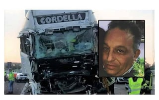 Striano piange Nino Caiazzo, camionista morto in un incidente stradale a Piacenza