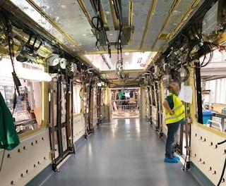 I nuovi treni della Linea 1 della metro di Napoli sono ancora in fabbrica