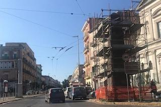 Piazza Capodichino da ristrutturare, restauro per gli obelischi voluti dai Borbone