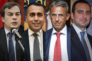 Quattro napoletani ministri del governo Conte-bis: Di Maio, Amendola, Costa e Spadafora