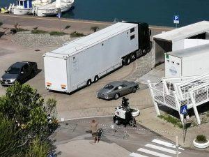 Il set a Sapri per il nuovo film della serie di James Bond. [Fonte: Pro Loco Sapri]