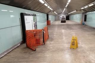 La fermata metro di Salvator Rosa resta chiusa. E non si sa fino a quando