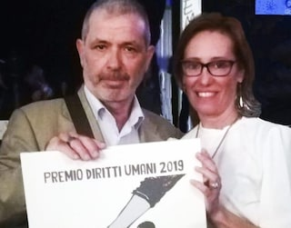 Pietro Ioia, ex narcotrafficante, ora lotta per i diritti dei detenuti. Premiato da Ilaria Cucchi