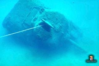Paestum, nel mare c'è un carro armato americano: è affondato nello sbarco del 1943