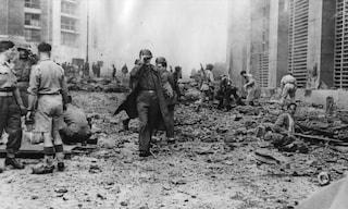Il 7 ottobre 1943 l'attentato nazista al Palazzo delle Poste di Napoli a Piazza Matteotti
