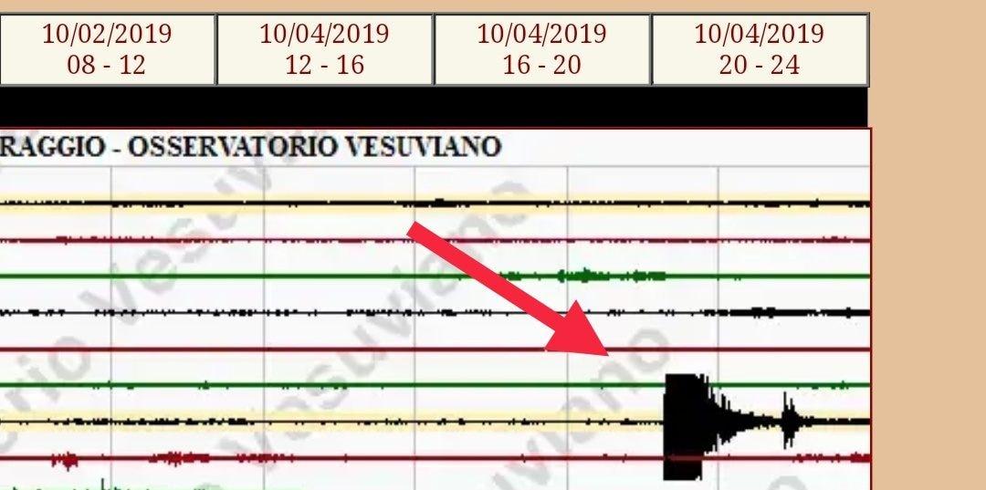 L'osservatorio Vesuviano ha indicato nel suo servizio di sismografo online la scossa avvertita da molti residenti.