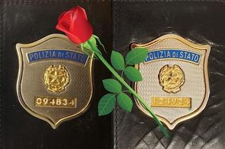 """Poliziotti uccisi a Trieste, l'addio dell'agente Lisa: """"Sarete sempre Figli delle Stelle"""""""